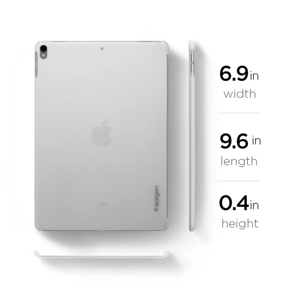 lowest price 8ae80 519ea Spigen Thin Fit Designed For Apple iPad Pro 10.5 Case - Soft Clear