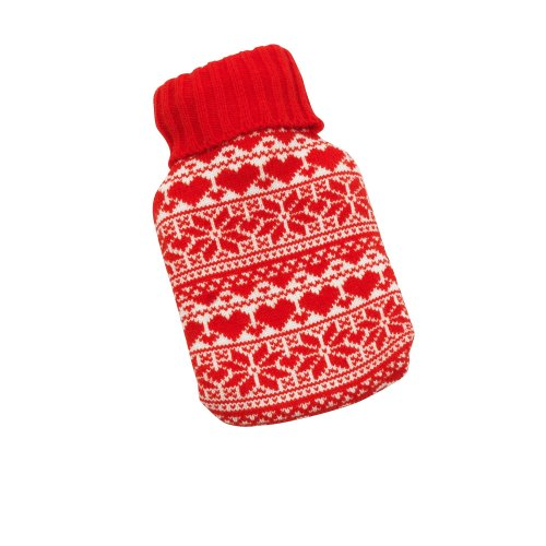 Christmas Hot Water Bottle In Christmas Cover / XMAS Novelty