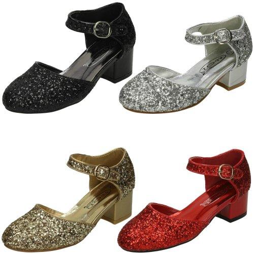 Girls Spot On Mid Heel Shoe
