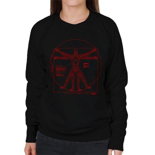 Terminator Vitruvian T800 Women's Sweatshirt