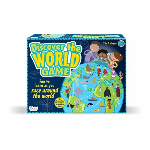 Discover The World Map Game