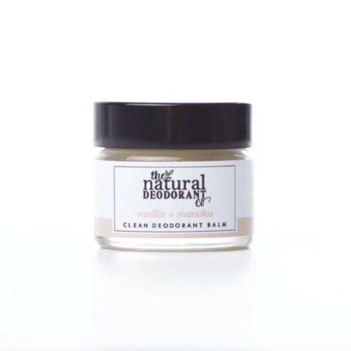 The Natural Deodorant Co Clean Deodorant Balm Vanilla & Manuka 20g