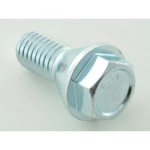 Wheel bolt, M14 x 1,5 26mm short head silver