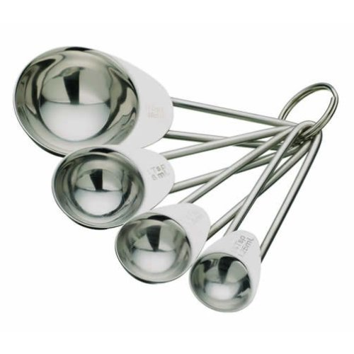 Stainless Steel 4 Piece Measuring Spoon Set
