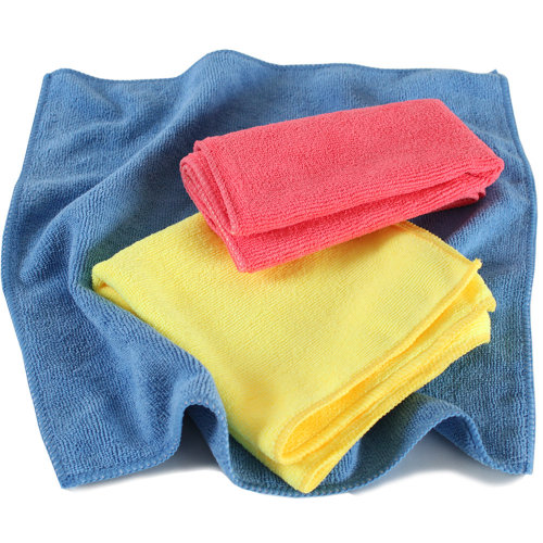 1,000 microfibre cloths - colorful