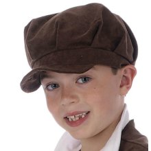 ef8932870f128 Smiffy s Bowler Hat Felt With Band - Black - Fancy Dress 1920s ...