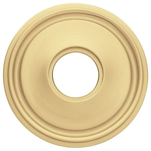 Baldwin 5070040 2.62 in. Estate Rosettes for Passage Functions, Satin Brass