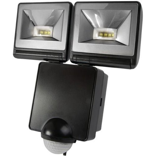 TIMEGUARD LED200PIRB FLOODLIGHT TWIN 8W LED BL [1] (Epitome Certified)