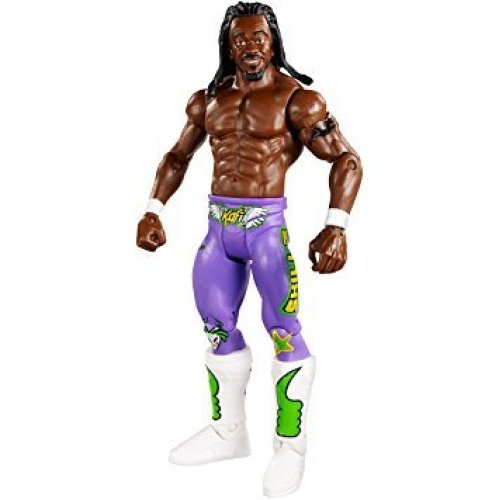 WWE Kofi Kingston Superstar #9 Mattel Wrestling Figure Brand New Sealed