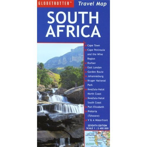 South Africa (Globetrotter Travel Map)