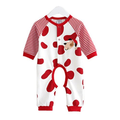 Baby Suit Clothing Long-Sleeved Cotton Baby Crawl Sports Open Fork Cotton X