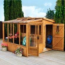 8x8 Combi Greenhouse