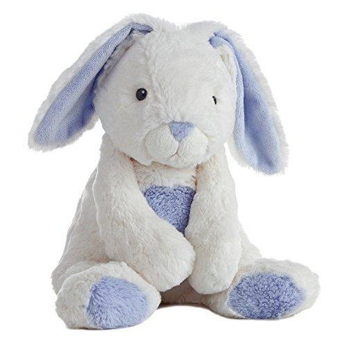 "Aurora World Quizzies 16"""" Bun Bun Bunny Stuffed Bunny (Blue)"