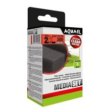 Aquael ASAP 300 Replacement Sponge with Carbomax x2
