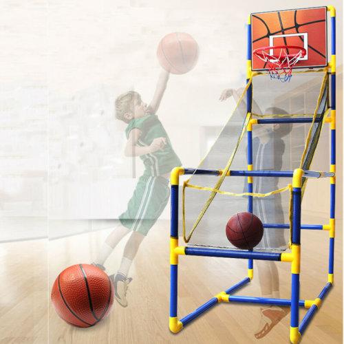 Kids Childrens Indoor Outdoor Basketball Set Shoot Hoop Backboard Basket Ball UK
