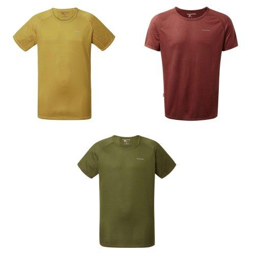 Craghoppers Mens NosiLife Short Sleeved Baselayer T-Shirt