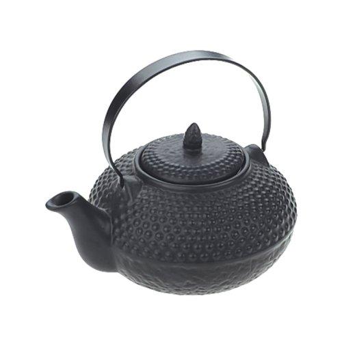 BIA Oriental Hobnail Teapot Kurotobi Black