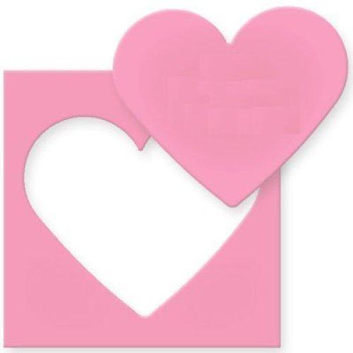 Efco Heart Punch, Pink, 61 x 51 mm