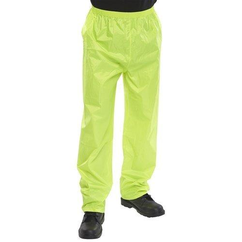 Click NBDTSYL Nylon Waterproof Trousers Saturn Yellow Large