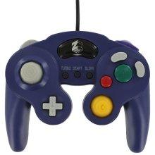 ZedLabz wired controller for Nintendo GameCube - Purple