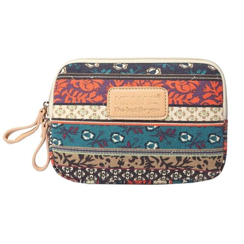 8-inch Shockproof Canvas Case Phone Cover Protective Pouch Bag