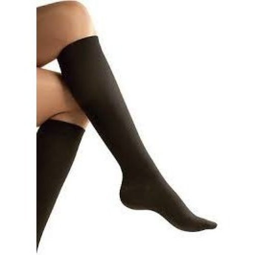 Unisex Compression Socks Relief For Aching Feet Varicose Veins Dvt Flight - -  sure travel flight socks large size 912