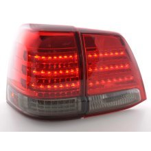 Led Taillights Toyota Land Cruiser Typ FJ200 Year 07-08 black/red