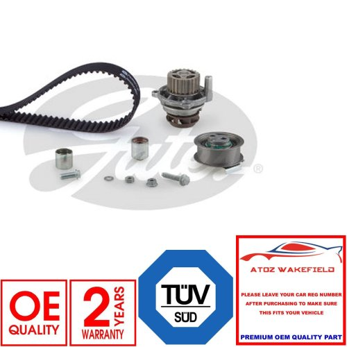 FOR VW GOLF MK6 2.0 R 4 Motion OEM GATES ENGINE TIMING CAM BELT WATER PUMP KIT