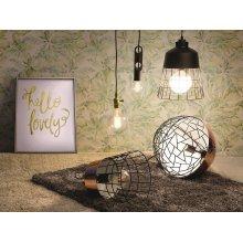 LED Light Bulb - Low Energy - Warm White - Globe - 6W, E27, 12.5x17.5 cm