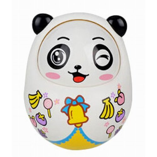 Creative Baby Toys Lovely Nodding Doll Tumbler Early Educational Toys, Panda