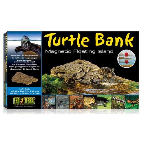 Exo Terra Turtle Bank Magnetic Floating Island Large 40.6x24.0x7cm