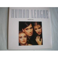 THE HUMAN LEAGUE - Greatest Hits UK gatefold sleeve LP + inner 1988 ex