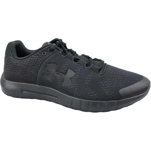 Under Armour Micro G Pursuit BP 3021953-002 Mens Black running shoes