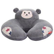 Cartoon Memory Foam Soft Neck & Head Support Travel Pillow, d