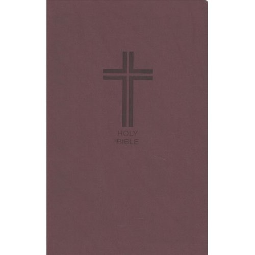 NKJV, Value Thinline Bible, Leathersoft, Burgundy, Red Letter Edition, Comfort Print