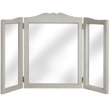 Three Way Dressing Table Mirror -  louis collection three way dressing table mirror