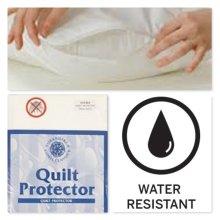 Waterproof Anti-Allergy Zipped Duvet Protectors