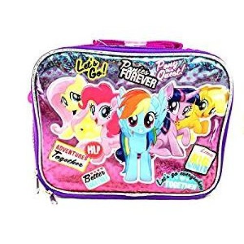 Lunch Bag - My Little Pony - Ponies Forever Friends Girls New 149097