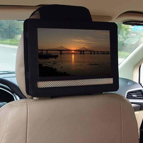 Car Headrest Mount Holder for Portable DVD Players