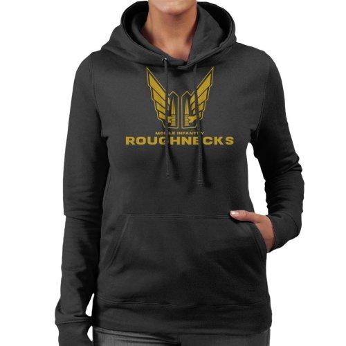 Starship Troopers Mobile Infantry Roughnecks Logo Women's Hooded Sweatshirt