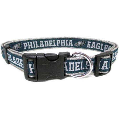 d9ff7323b Pets First 849790039643 Philadelphia Eagles Dog Collar - Ribbon - Large on  OnBuy