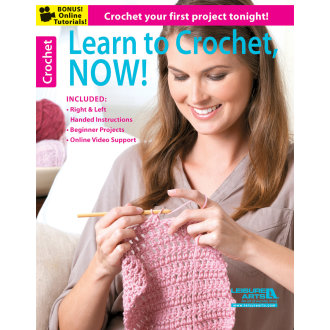 Leisure Arts-Learn To Crochet, Now!