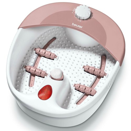 Beurer FB20 Massage Foot Bath with Pedicure Attachments¦Vibration¦Infrared Dots¦