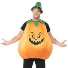 Smiffys Pumpkin Costume | Adult Pumpkin Fancy Dress