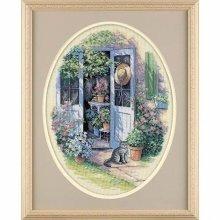 D35124 - Dimensions Counted X Stitch - Garden Door
