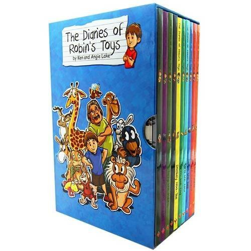 The Diaries of Robin's Toys - The Complete Collection 10 Book Set