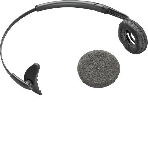 Plantronics Uniband Headband Monaural Wireless Black mobile headset