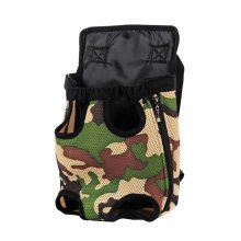 Outdoor Travel Front Backpack Carrier Bag For Pets CAMO (Suitable for 0-2.5kg)