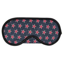 Simple Creative Sleep Mask Comfortable Sleep Mask Eye-shade Aid-sleeping, Cowboy Five-pointed Star