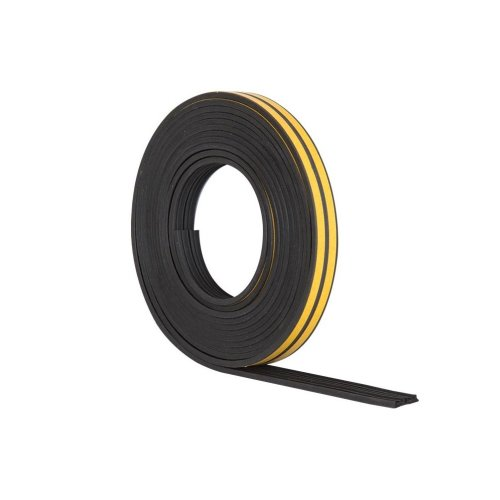 Stormguard 05SR033010MBL 10m EPDM E Profile Self-Adhesive Rubber Draught Excluder - Black …
